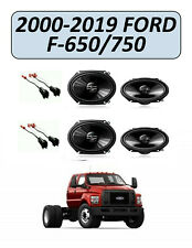 FORD F-SERIES F-650/750 2000-2019 Factory Speakers Replacement Kit, PIONEER