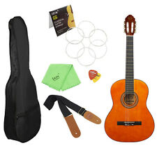 "MBAT 39"" Classical Orange Guitar with Bag & String & Cloth & Strap & Picks"