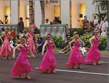 """*Postcard-""""Girls Dance at The Hawaiian Holiday Parade""""  (B360)"""