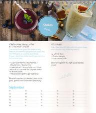 Perpetual Calendar for Birthdays & Anniversaries with Vegan Recipes