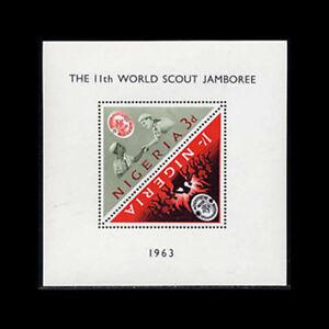 Nigeria, Sc #146a, MNH, 1963, S/S, World Scout Jamboree, FGD-A