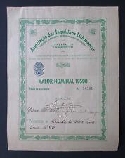 Portugal - Associação dos Inquilinos Lisbonenses, 1 Share, N/D (1924) - *RARE*