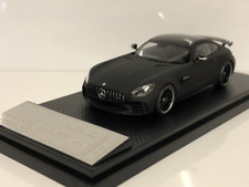 Almost Real 420710 Mercedes AMG GT R 2017 Leather Matt Black 1:43 Scale