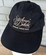 Stockman & Dakota Premium Angus Beef Baseball Cap Hat