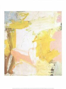 WILLEM DE KOONING Rosy-Fingered Dawn At Louse Point 31.5 x 23.5 Offset Lithograp