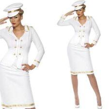 Costumi e travestimenti bianco divisi per carnevale e teatro da donna
