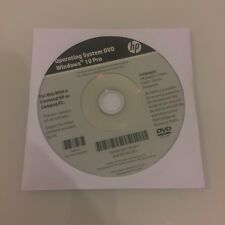 HP Win 10 Pro Operating System DVD NEW UN-OPENED