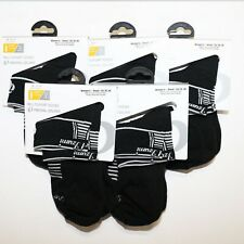 Pearl Izumi Cycling Socks Women Small 5 - 7 Sport Bicycle ELITE Black New 5 Pack