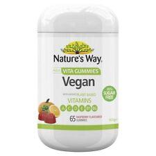 Nature's Way Adult Vita Gummie Vegan Sugar Free 65 pack