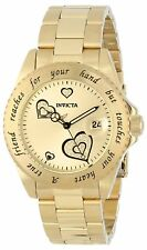 Invicta Women's 14733 Angel Analog Japanese-Quartz Gold Tone Watch