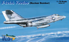 NEW !!! McDonnell F-101A Voodoo nuclear bomber Valom 1/72 plastic kit