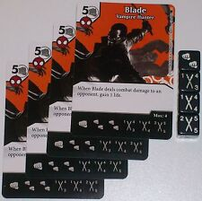 4 X BLADE: VAMPIRE HUNTER 39/142 The Amazing Spider-Man Dice Masters