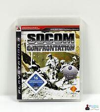 PlayStation ps3 juego-SOCOM confrontation-completamente en funda OVP