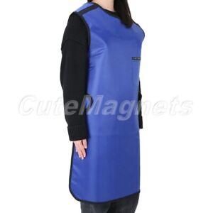 Hospital Flexible X-Ray Protection Protective Lead Apron 0.5mmpb Blue 100*60cm