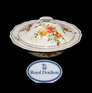 Vintage Royal Doulton Rosslyn 1920s art deco stunning tureen serving bowl
