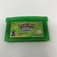 Pokemon Leaf Green Version Nintendo Gameboy Advance GBA Reproduction US Seller!