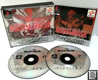 Metal Gear Solid ~ Playstation PS1 Platinum *Very Good Condition Complete*