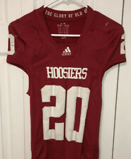 Indiana Hoosiers Game Worn Authentic On Field Jersey