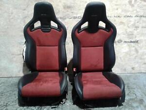 2016 NISSAN 370Z / GTR Nismo Recaro Front Seats Leather & Alcantara **RARE**