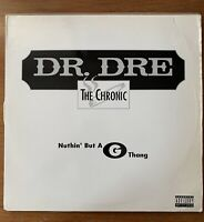 DR. DRE Nuthin' But A G Thang INTERSCOPE 12 Vinyl Single Original 1992