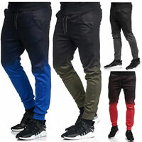 Men's Gym Slim Fit Trousers Tracksuit Bottoms Designer Joggers Sweat Track Pants
