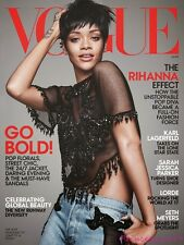 VOGUE Magazine US 2014 RIHANNA Lara Stone KIT HARINGTON Edie Campbell