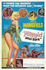 Playgirl After Dark 01 comprimidos A3 Caja De Lona