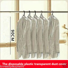 15 Pcs New Disposable Plastic Dust Cover Clothing Storage Bag Chest Hang Clothes
