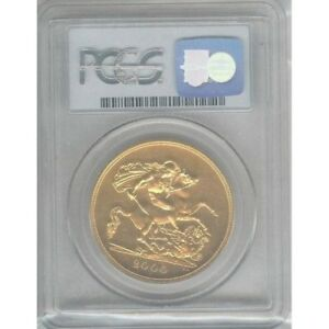 Great Britain - 2000 - 5 Pounds - Gold Coin- 338th Coin Struck