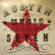 Austin Music Volume Seven 7 CD 2008 ACVB Live Music Capital of the World  ATX