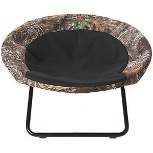 K&H Pet Products Large Pet Elevated Cozy Cot Dish Chair Dog Bed, Realtree Edge