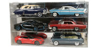 1:18 Scale Six Car Display Case