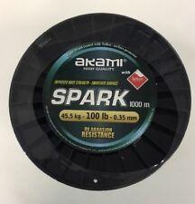 Trecciato Akami Spark 1000mt/0,35 mm