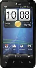 AT&T Cricket Tracfone Red Pocket HTC Vivid 4G LTE 16GB Black 8 MP GSM Very Good
