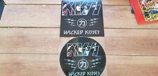 KISS - WICKED KISSES - RARE AUSSIE 16 TRACK DEMOS COLOUR LP PICTURE DISC MINT !!