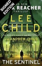 SIGNED LEE CHILD & ANDREW CHILD The Sentinel HBK PREORDER - Jack Reacher #25