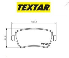 2434802 Kit pastiglie freno a disco post.Fiat Croma (MARCA-TEXTAR)