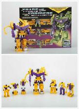 Transformers G1 Reissue Devastator Yellow Decepticons Robot Toy Christmas New