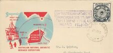 Australia 1954 Australian Antarctic Research First Day Cover