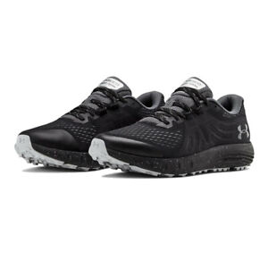 Under Armour Mens Charged Bandit Trail Running Shoes Trainers Sneakers Black
