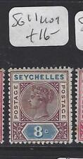 SEYCHELLES  (P1807B)  QV  8C  SG 11       MOG