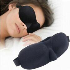 Black 3D Augenmaske Schlafbrille Schlafmaske Augenbinde für Reise Eye Mask KUS