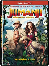 JUMANJI: WELCOME TO THE JUNGLE DVD - SINGLE DISC EDITION - NEW UNOPENED