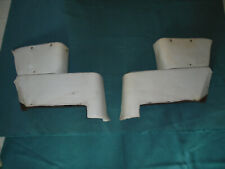 1963 1964 Galaxie XL 500 Convertible Rear Armrest Piston Covers Mercury Convert