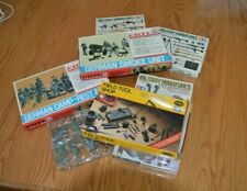 Lot of 6 1/35th scale WWII German Military Models