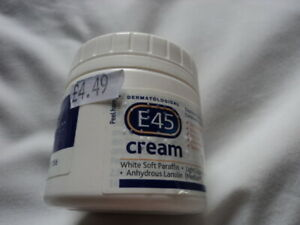 E45 125g Dermatological Cream Treatment for Dry Skin Brand New