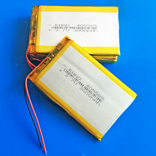 5 pcs 3.7V LiPo Battery 3000mAh for Tablet PC DVD GPS Camera Recorder PAD 405585