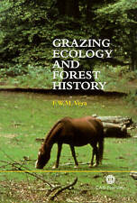 Grazing Ecology and Forest History, , Good Book