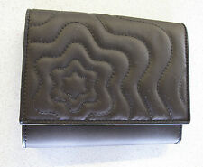 Montblanc women's wallet brown toffee color leather satin fabric Dalila Starisma