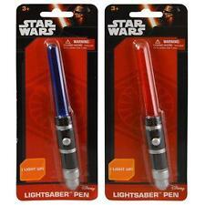 Disney Star Wars Ep 7 Light Up Lightsaber Pen Set